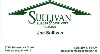 Sullivan Custom New Homes Fort Wayne, Indiana